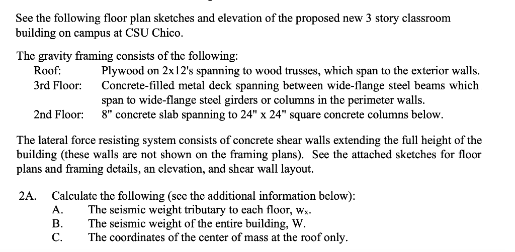 See The Following Floor Plan Sketches And Elevatio Chegg Com
