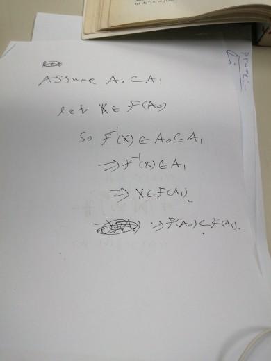 Assure A.CAI -17.00 let XE F (Ao) So f (x) E A OCA, & (X) EA, - XEFCA) 2002 >) FA).
