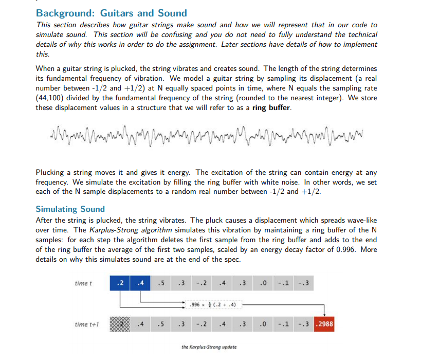 Background: Guitars And Sound This Section Describ ...