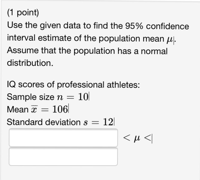 confidence interval minitab 15 crack
