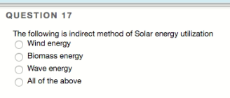 Solved Question 17 The Following Is Indirect Method Of So Chegg Com