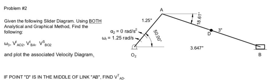 Solved: Problem #2 A 1 25