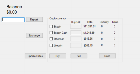 buy and sell cryptocurrency online
