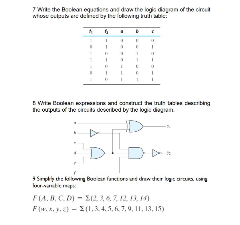 Logic Diagram Definition | Wiring Diagrams