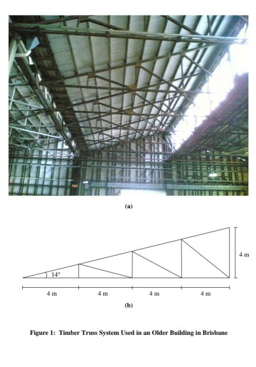 Steel Design Question Figure 1 Shows A Timber Roof Chegg Com
