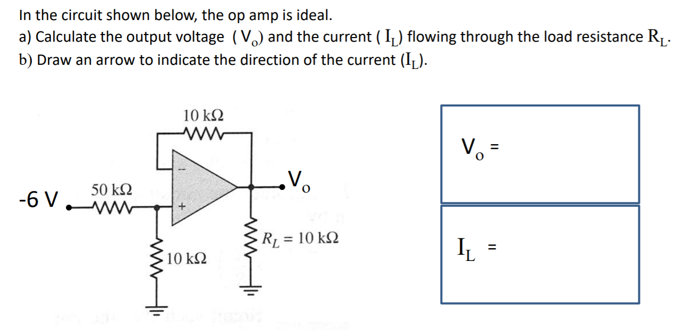 The Below Circuit With Opamp Is Called Current Cheggcom