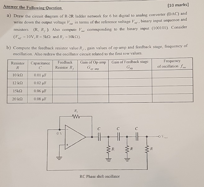 R 2r Ladder Dac Circuit Diagram - Wiring Diagram