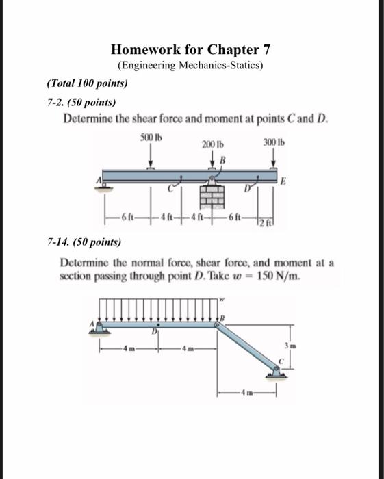 Engineering mechanics statics homework problems essays on harrison bergeron by kurt vonnegut