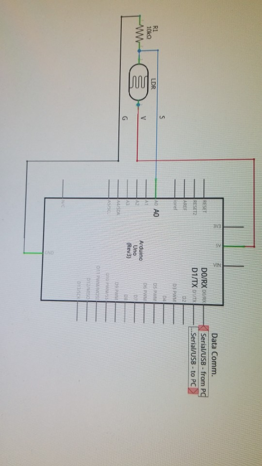 Procedure: Part 1: 1. Wire The Circuit According T ... on usb connections diagram, usb 2.0 cable diagram, usb cord wire diagram, burner wiring diagram, ide to usb cable, usb pin diagram, usb pinout diagram, usb plug diagram, ide hard drive usb adapter, usb cable schematic diagram, ide connection diagram,