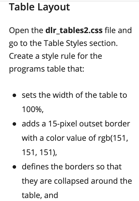 Solved Codes I Have Table Programs Width 100 Border