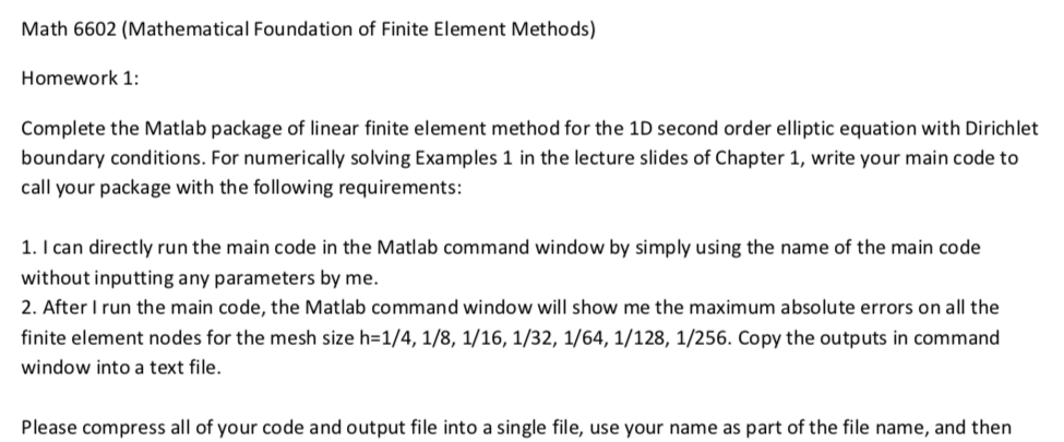 Hi, I Have A First Homework About Using Matlab But