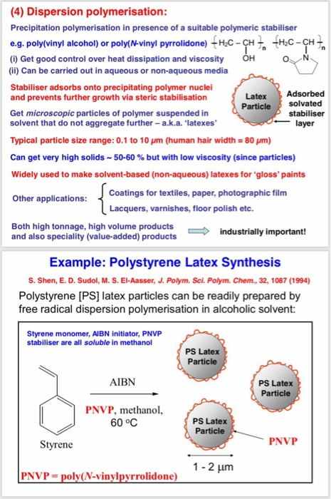 Solved Polymer Chemistry Please Help Me In Solving The Chegg Com