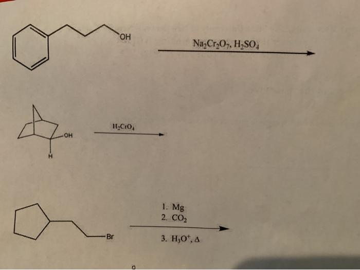 Na2Cr2O7, H SO, H CO 1  Mg 2  CO2 3  Hz0, | Chegg com