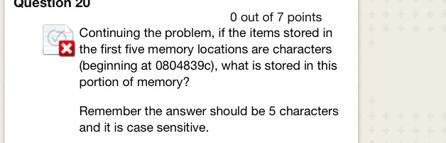 Solved Question 18 O Out Of 8 Points Consider The Picture Chegg Com