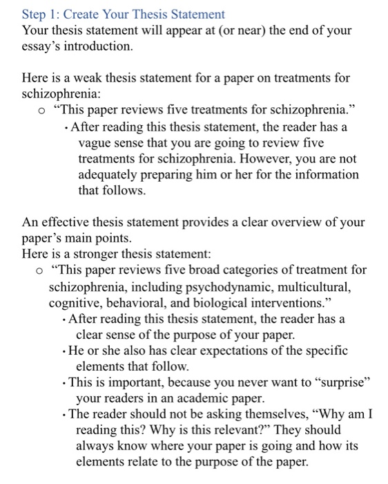 Examples of thesis statements on depression engineering resume skills section