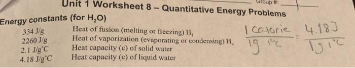Solved: Sample Of Water At 25 3. Suppose That During The L ...