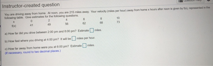 Solved Instructor Created Question You Are Driving Away F