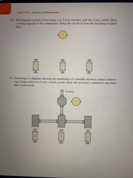 solved 112 chapter 5 switches and receptacles 22 this di