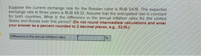 Suppose The Cur Exchange Rate For