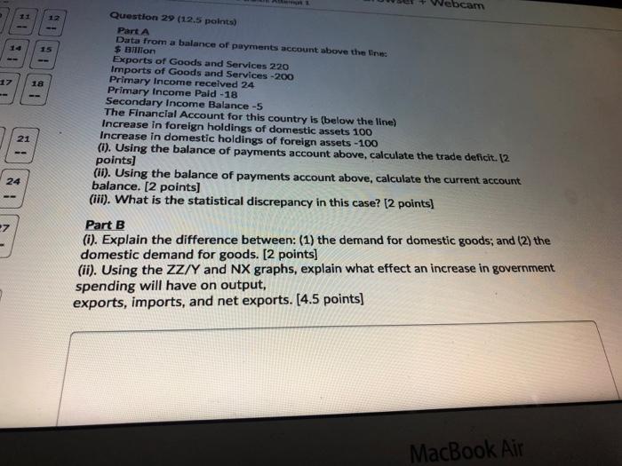 Solved Webcam 11 12 14 15 18 Question 29 12 5 Points Pa Chegg Com
