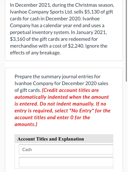 How Are Christmas Sales Doing Dec 2020 Solved: In December 2021, During The Christmas Season, Iva