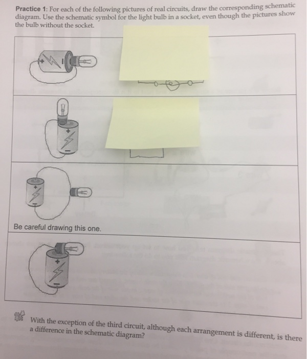 Solved: Practice 1: For Each Of The Following Pictures Of ... on circuit drawing practice, venn diagram practice, parallel circuit practice, theory practice,