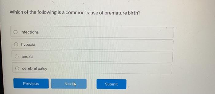 Birth Anoxia