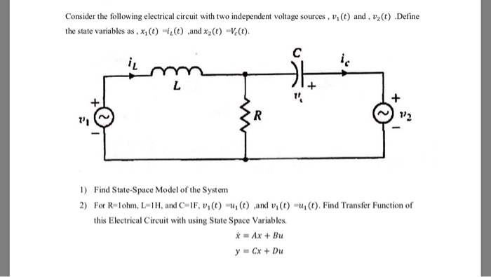 define an electrical plan solved consider the following electrical circuit with two  electrical circuit