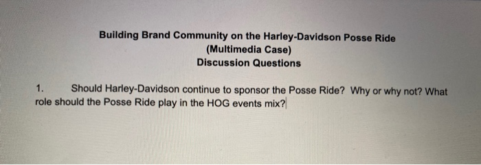 Building brand community on the harley davidson essay full 2 filmbay academics iv 41 html how to write hangul in english