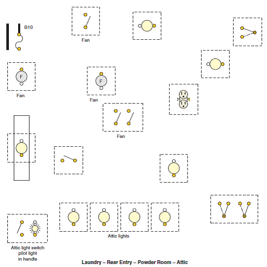The Following Is A Layout Of The Lighting Circuit For T