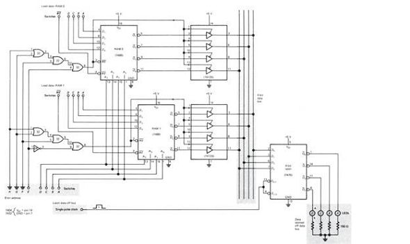 [TVPR_3874]  The 7432 and 7404 ICs are used as ______ in the circu... | Chegg.com | Ics Wiring Diagram |  | Chegg