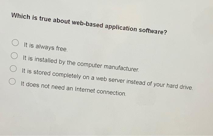 20+ Which Is True About Web-Based Application Software * Pics