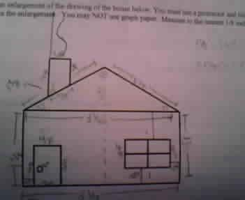 I Have A Small House Drawn With A Bunch Of Measure Chegg Com