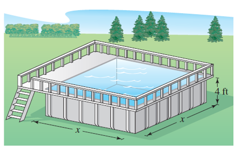 Solved: Design and Construction An above-ground swimming ...