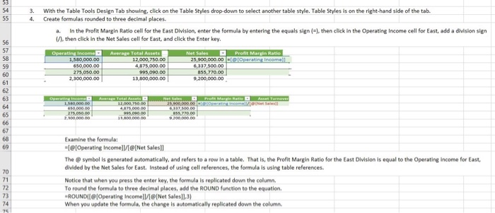 Solved: 3 Ratio Analysis: Using Excel For Key Performance