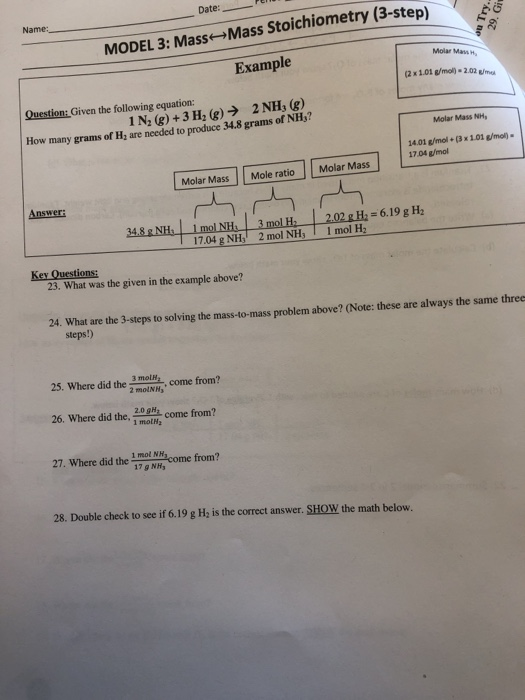 Molarity Pogil Answer Key Chemistry + My PDF Collection 2021