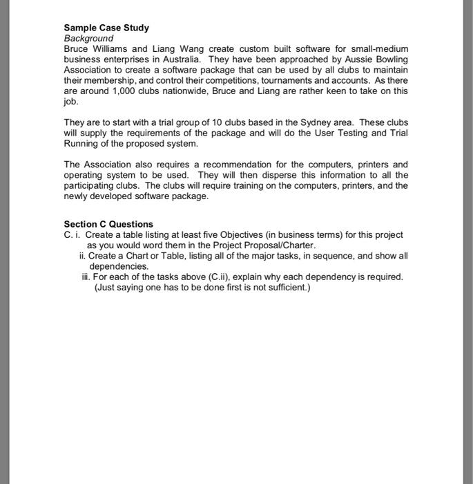 case study background example