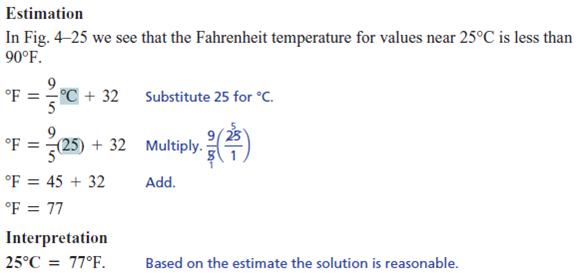 fahrenheit change celsius temperatures temperature solution degrees