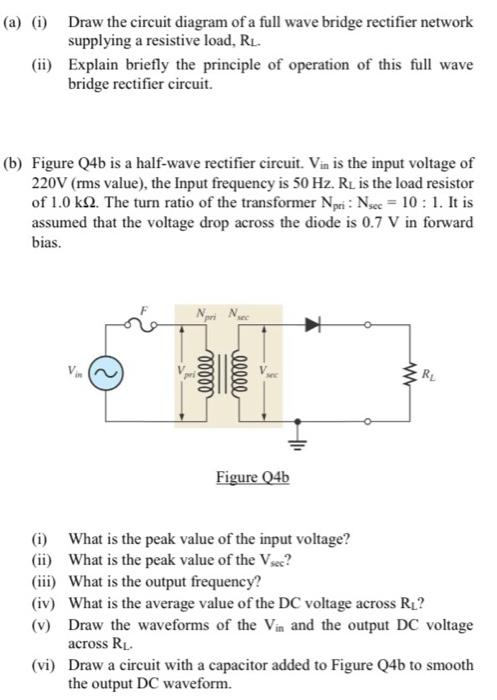 images?q=tbn:ANd9GcQh_l3eQ5xwiPy07kGEXjmjgmBKBRB7H2mRxCGhv1tFWg5c_mWT Draw The Circuit Diagram Of Full Wave Bridge Rectifier