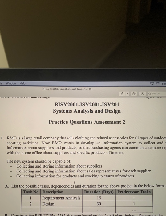 Els Window Help A2 Practice Questions Pdf Page 1 Chegg Com