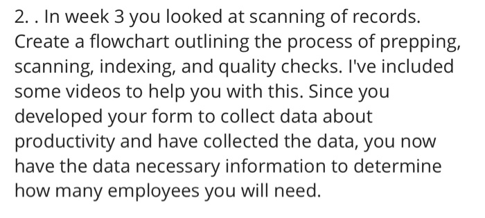 Create A Flow Chart For The Process Of Scanning Me Chegg Com