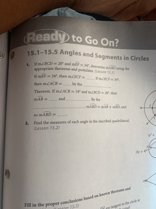 (Ready To Go On? 15.1-15.5 Angles And Segments In ...