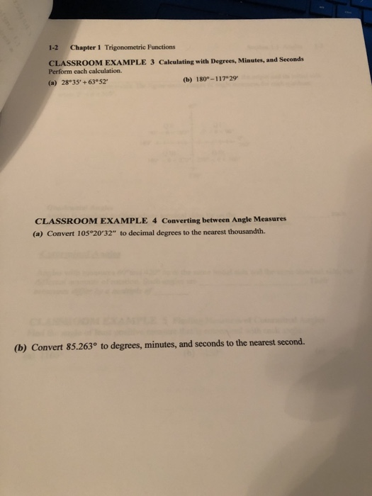 Solved: Degree Measure CLASSROOM EXAMPLE 1 Finding The Com