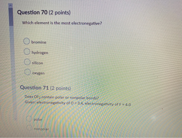 Solved Question 58 2 Points Consider The Following Reac Chegg Com