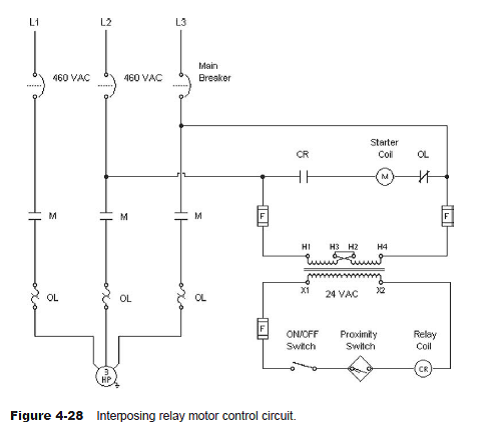 interposing relay wiring diagram the purpose of this assignment is to observe the operat chegg com  chegg com