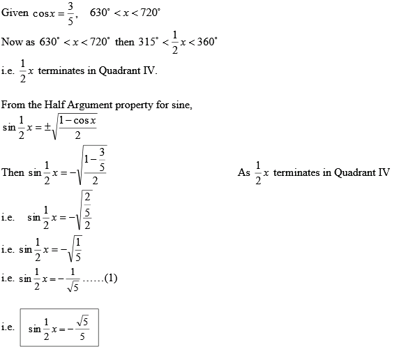 Solved Calculate And For The Angle Described Chegg Com