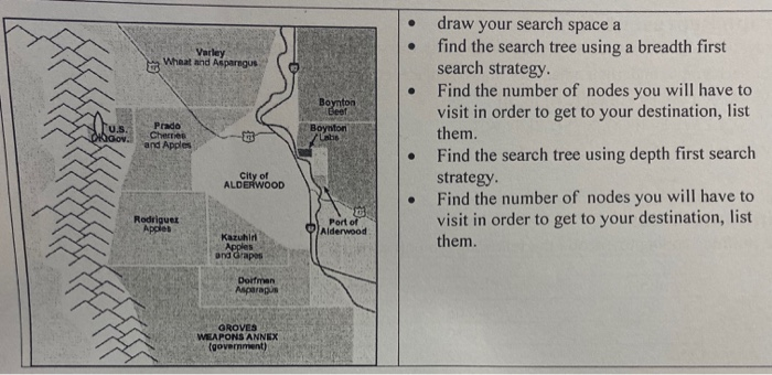 Search Strategies: Consider The Map Below. You Are ... on martin map, electric map, ubrs map, explorer map, rock map, caribbean map, pop map, man map, standard map, marshall map, stevens map, metal map, usa map, port map, string map, satellite map, paul map, st map, gibson map,