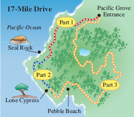 Solved: See Example.EXAMPLECalifornia Coastline. The first ... on pebble beach, california state route 133, cathedral of san carlos borromeo, cypress point club, spyglass hill golf course, sand city, 49-mile scenic drive, carmel valley, pacific grove, pebble beach golf links, cannery row, california state route 1, bixby creek arch bridge, cupressus macrocarpa, monterey peninsula airport, california state route 241, california state route 68, big sur,