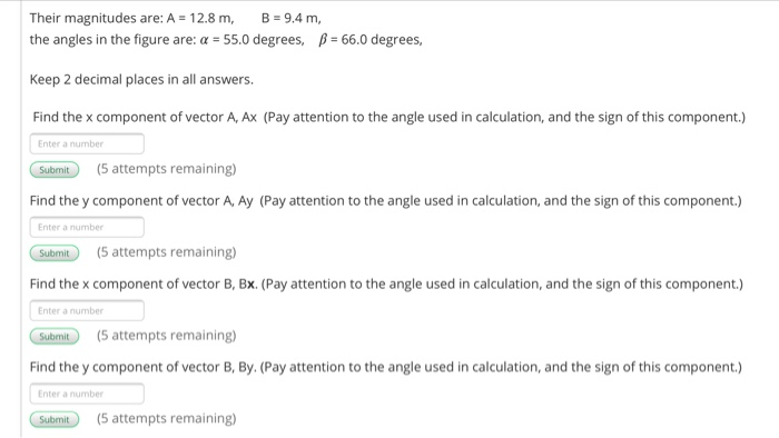 Solved: 5:58 PM Tue Sep 3 83% App varaty com Vectors A And