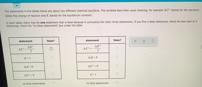 solved the statements in the tables below are about two d chegg com chegg